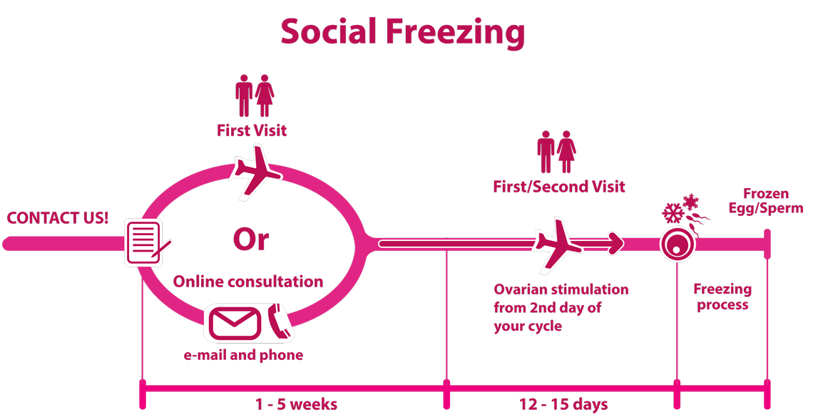 Social Freezing process